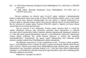 SINIF DEFTERLERİYLE İLGİLİ KAZANIMIMIZ