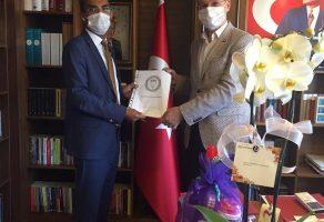 Milli Eğitim Bakanlığı Personel Genel Müdürü Sn. Ömer İNAN' a Ziyaret