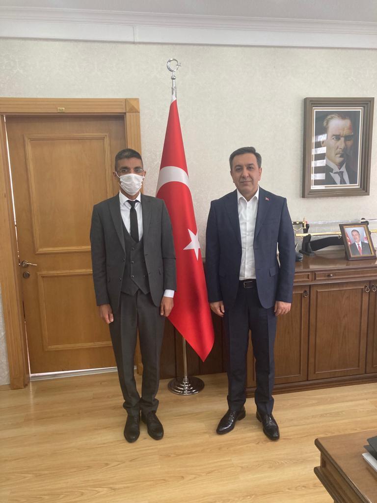 Milli Savunma Bakanlığı Bakan Yardımcısı Muhsin DERE' ye Ziyaret