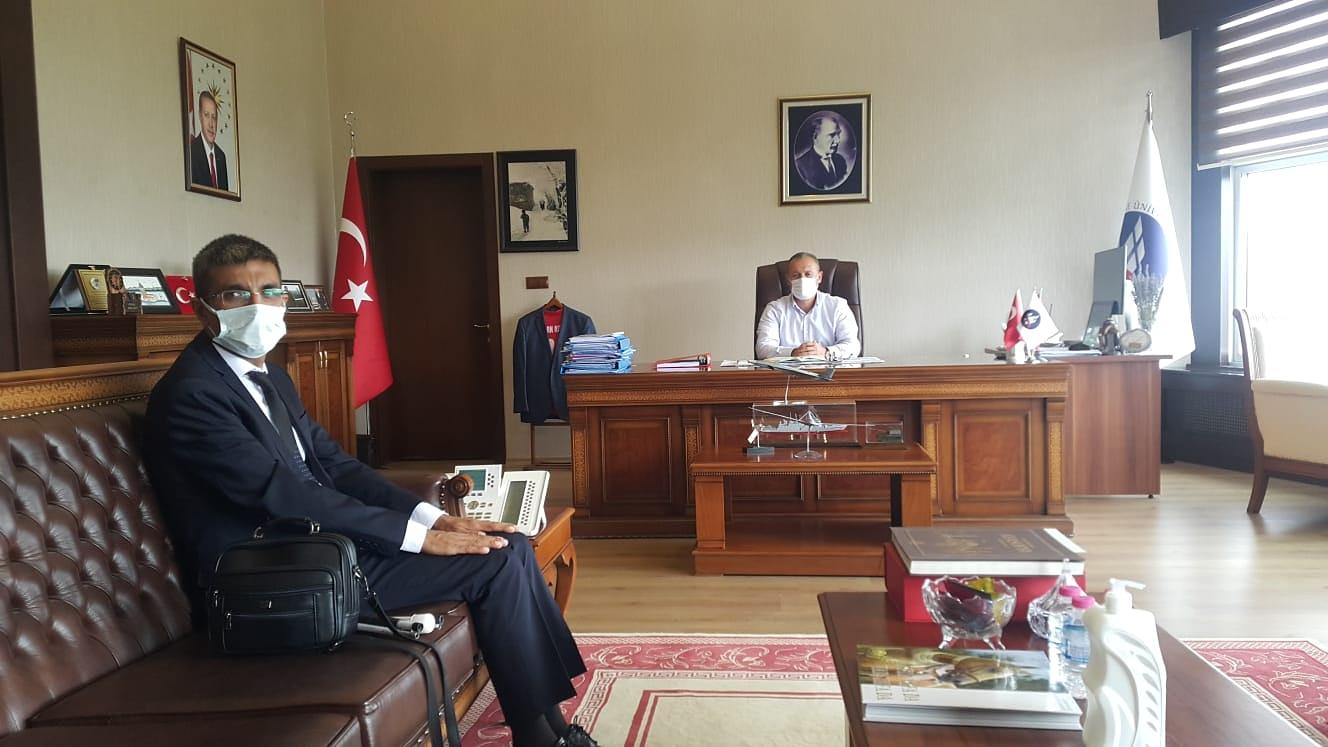 Kırıkkale Üniversitesi Rektörüne Ziyaret
